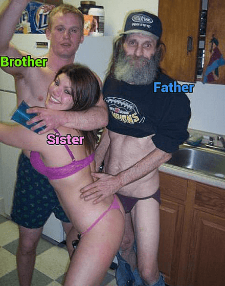 And daughter nudist