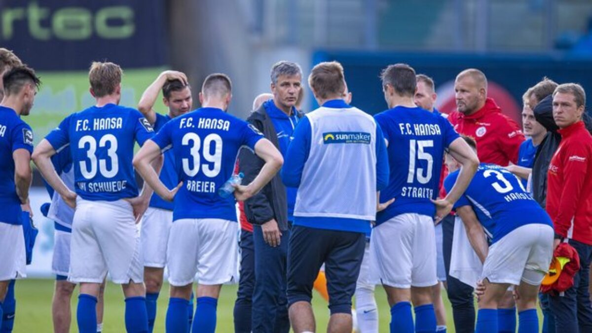 Hansa Rostock Can Play In Front Of Up To 7 500 Fans Viral Panda